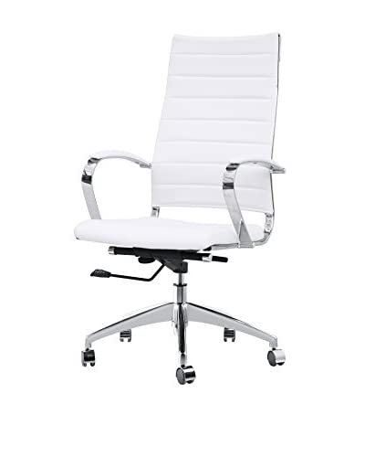 MaxMod Sopada Conference Office Chair High Back, White As You See