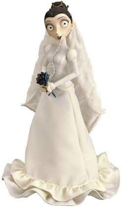 Corpse Bride Victoria Wedding Dress Collector's Doll