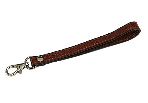 newest-genuine-leather-replacement-wrist-strap-for-clutch-wristlet-purse-pouch-coffee