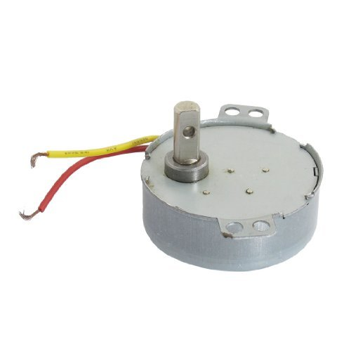 Dimart Ac 220V 2.5Rpm 4W 2-Wire 7Mm Shaft Electric Power Reduction Gear Motor