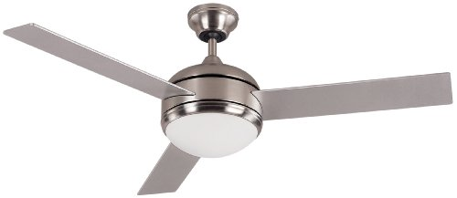 Top rated energy efficient ceiling fans cost efficiency key canarm ltd calibre bpt 48 frosted glass 1 bulb light kit 48 inch ceiling aloadofball Gallery
