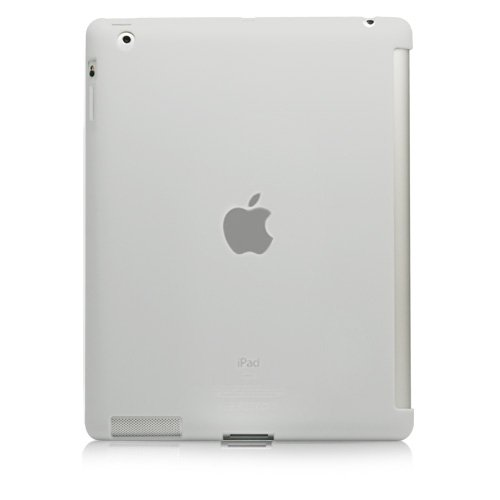 BoxWave iPad 2 Smart Sleeve (Slim-Fit Smart Cover Compatible TPU Case) (Frosted Clear)