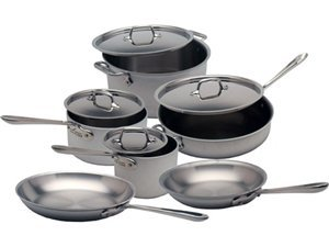 All-Clad 10-pc. Master Chef 2 (MC2) Cookware Set