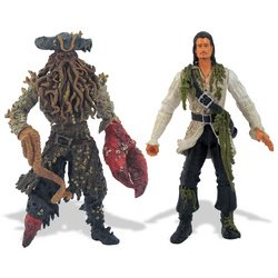 Buy Low Price Zizzle Pirates of the Caribbean 2.5: 3.75″ Will Turner & Davy Jones Figure 2-Pack (B000NZPZA2)