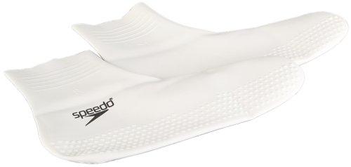 speedo-chaussettes-de-natation-mixte-en-latex-blanc-noir-l