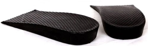 SINY 0.8 inches Shoe Insoles for Women and Men Height Increase Heels Pad Air Cushion Black Lift Kit (Lift Kits Shoes Man compare prices)