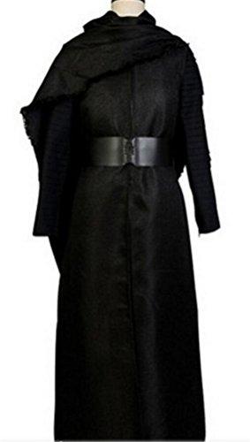 [Adult Men's Halloween Deluxe 1:1 Kylo Ren Darth Vader Costume Custom Size (XXXL)] (Star Wars Darth Vader Adult Plus Costumes)