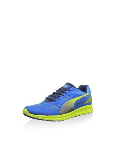 Puma - Ignite Mesh, Sneakers da uomo, Blu (Blau (cloisonné-poseidon-sulphur spring 01)), 42