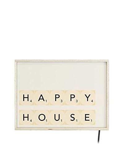 Really Nice Dingen lichtgevende beeld Happy House