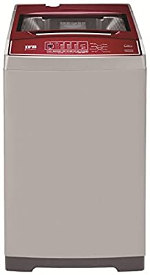 IFB AW6501RB Electronic Top-loading Washing Machine (6.5 Kg, Silver and Red)