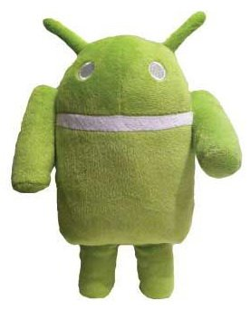 "Google Android Plush Doll, 10"" H"