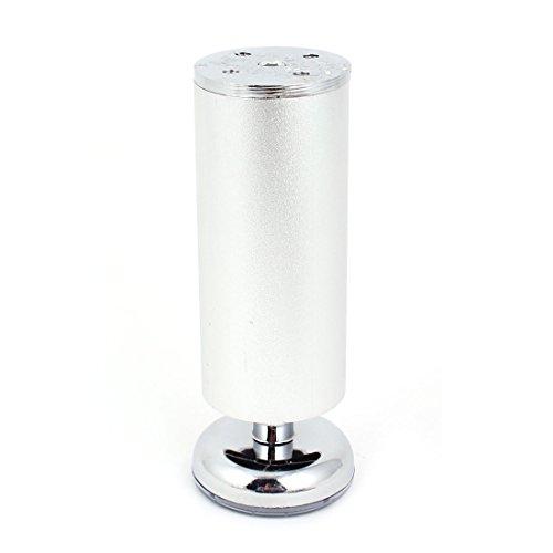 Möbel Schrank Sofa Tisch 15x5cm verstellbare Aluminium Beine Füße runden Basis de
