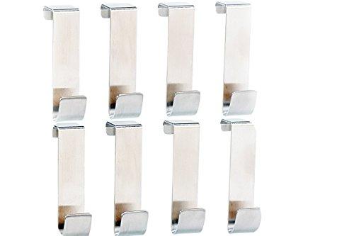 8-teilige-Kleiderhaken-Trhaken-Badezimmerhaken-Tr-Gaderobe-Gaderobenhaken-Edelstahl-8