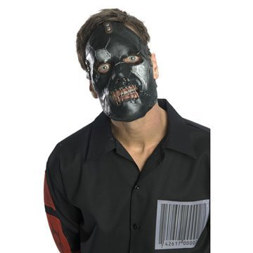 Rubie's Costume Co Slipknot Face Mask Paul, Black, One Size