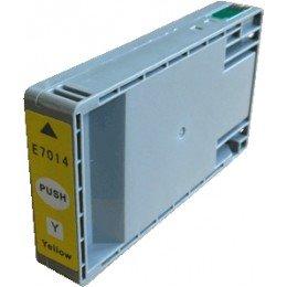 Compatible Epson T7014 jaune - C13T70144010