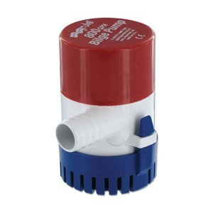 RULE 800 GPH ROUND NON AUTOMATIC BILGE PUMP 3/4 OUT
