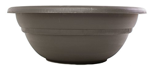 Bloem MB2124-60 Milano Planter Bowl, 24-Inch, Peppercorn (24 Urn Planter compare prices)