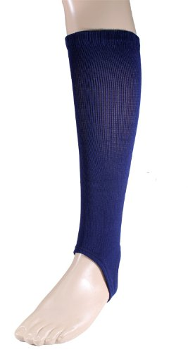 Twin City Solid Stirrup Socks 4 Inch Medium Navy - 1