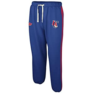 NBA adidas Los Angeles Clippers Springfield Fleece Sweatpants - Royal Blue by adidas