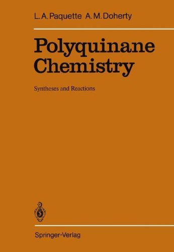 Polyquinane Chemistry: Syntheses and Reactions (Reactivity and Structure: Concepts in Organic Chemistry)