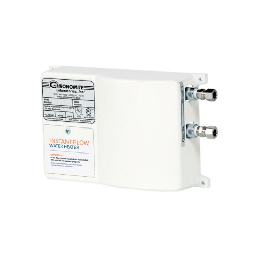 Chronomite SR-20L/120 HTR 120-Volt 20-Amp SR Series Instant-Flow Low Flow Tankless Water Heater