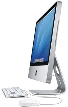 Apple MB323LL/A iMac 20-inch 2.4GHz 2GB Intel Core 2 Duo, 1 GB ram, 250 GB SATA hard drive, Aluminum Case (A1224)
