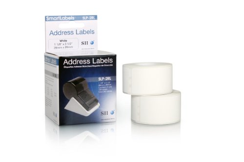 Seiko Instruments White Address Labels for Smart Label Printers (SLP-2RL) (Seiko 450 compare prices)
