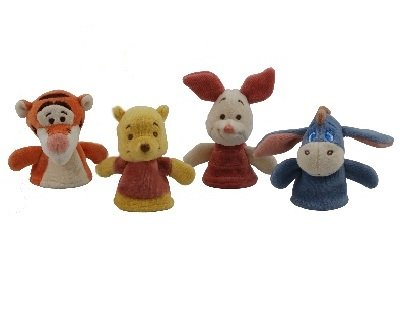 Miyim Disney Baby - Winnie The Pooh And Friends Finger Puppet Set front-769568