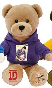 One Direction 9-in Collectible Bear - Zayn - Purple - 1d by i-Star Entertainment