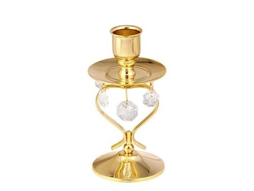 Crystocraft Five Hanging Crystals Candlestick статуэтка crystocraft миниатюра u0314 001 cbl