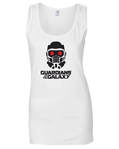 T-Shirtshock - Canottiera Donna TGAM0031 guardians of the galaxy, Taglia L