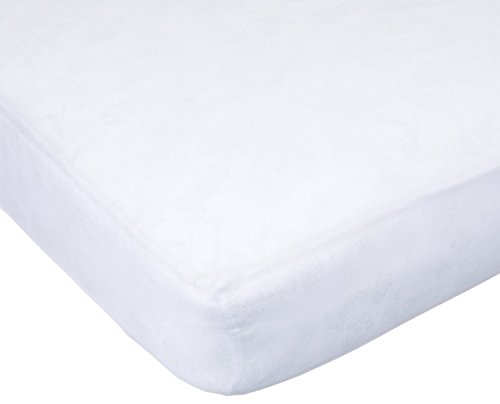 Carters Easy Fit Sateen Crib Fitted Sheet, White (Discontinued by Manufacturer)