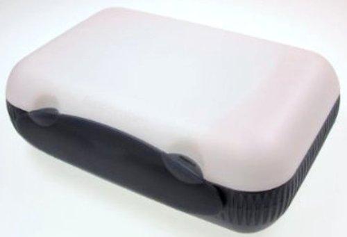 tupperware a136 contenitore per il pranzo colore nero. Black Bedroom Furniture Sets. Home Design Ideas