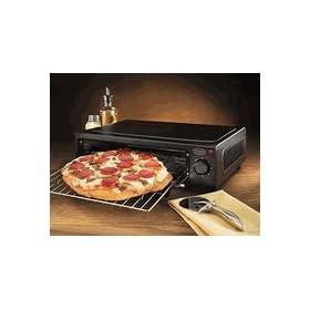 Nostalgia Pizza Oven - PBO220Blk.