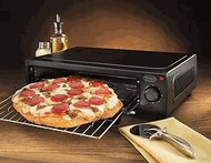 Nostalgia Electrics PBO-220BLK Countertop Pizza SALE