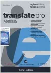 Translate pro il traduttore professionale inglese - Traduttore simultaneo italiano inglese portatile ...