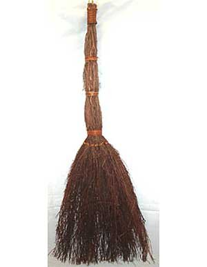 Large Cinnamon Broom Wiccan Wicca Pagan Metaphysical Spiritual Religious New Age