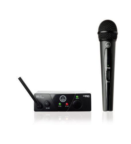 Akg Wms40 Wireless Mini Single Vocal Microphone Set, Band 45A