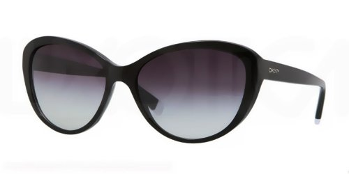 DKNY 0DY4084 300111 Cat Eye Sunglasses,Black,57 mm