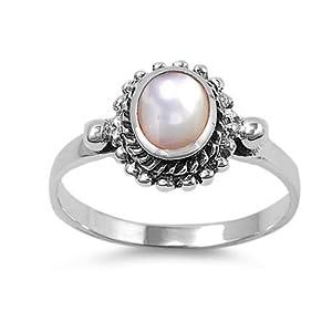 Amazon mother of pearl earrings