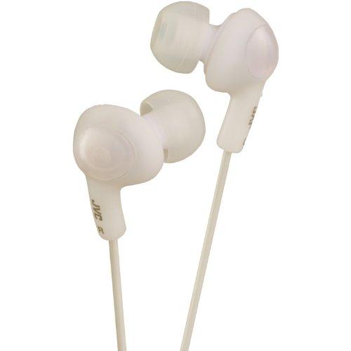 Jvc Hafr6W Gumy Plus High Quality Headphones (White)