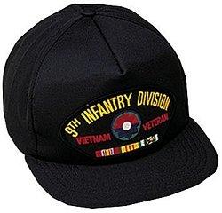 9th Infantry Division Vietnam Vet Ballcap