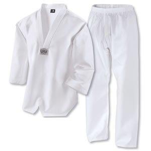 Century Martial Arts Lightweight Taekwondo Student Uniform - White, 5 - Adult Large
