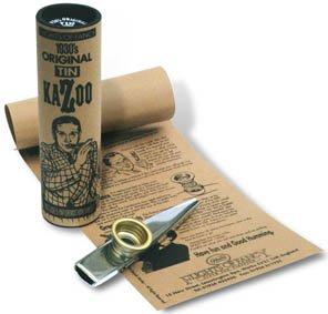 Original Tin Kazoo - Made just as the original Gold Top