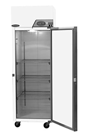 """Nor-Lake Scientific NSSF331WWW/4 Galvanized Steel Painted White Select Freezer, 208/230V, 60Hz, 33.1 cu ft Capacity, 31-3/4"""" W x 87-5/8"""" H x 35-7/8"""" D, -10 to -25 Degree C"""