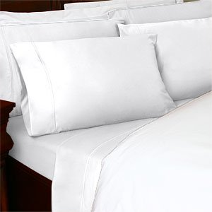 Royal Tradition'S Queen Size 550 Thread Count Solid White Sheet Set 100 % Egyptian Cotton 4Pc Bed Sheet Set (Deep Pocket) 550Tc front-1018695