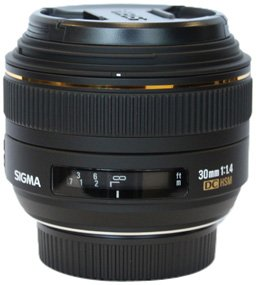 Sigma 30mm f/1.4 EX DC HSM Lens for Nikon Digital SLR Cameras