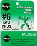 NuAge, 6 Kali Phos (Potassium Phosphate), 125 Tablets