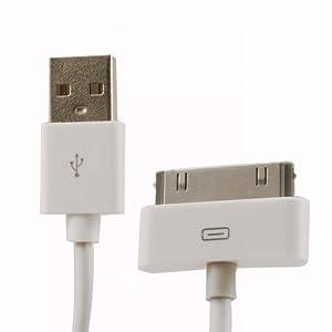 HSINI Data Sync Câble USB 2.0 pour Apple iPad câble de données 3M
