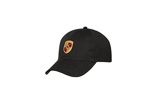 Porsche Black Crest Logo Cap, Official Licensed (Porsche Baseball Cap compare prices)